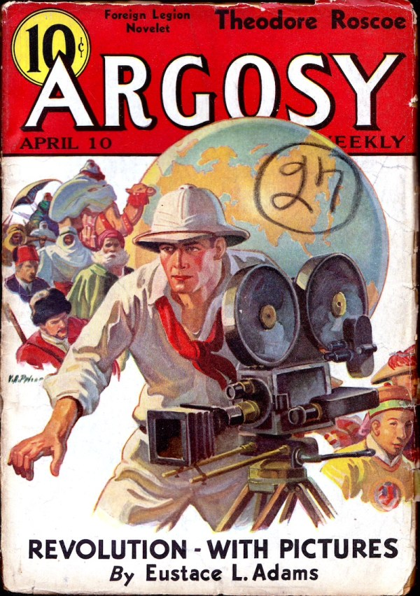 ARGOSY WEEKLY APRIL, APR. 10, 1937