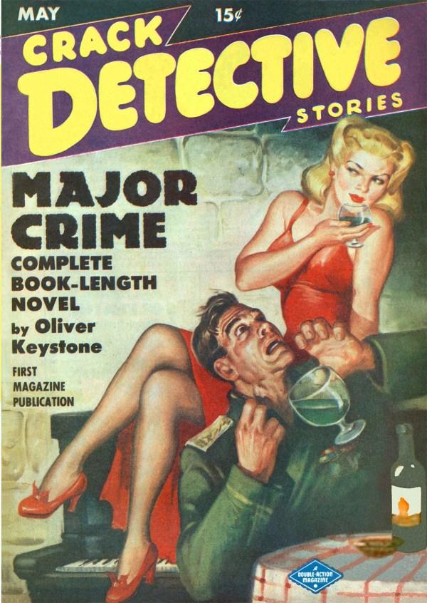 Crack Detective May 1949