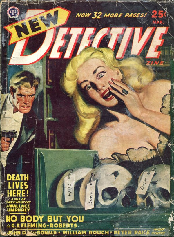 New Detective March 1948
