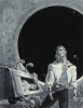 Five Galaxy Short Novels, dust jacket art, 1958 thumbnail