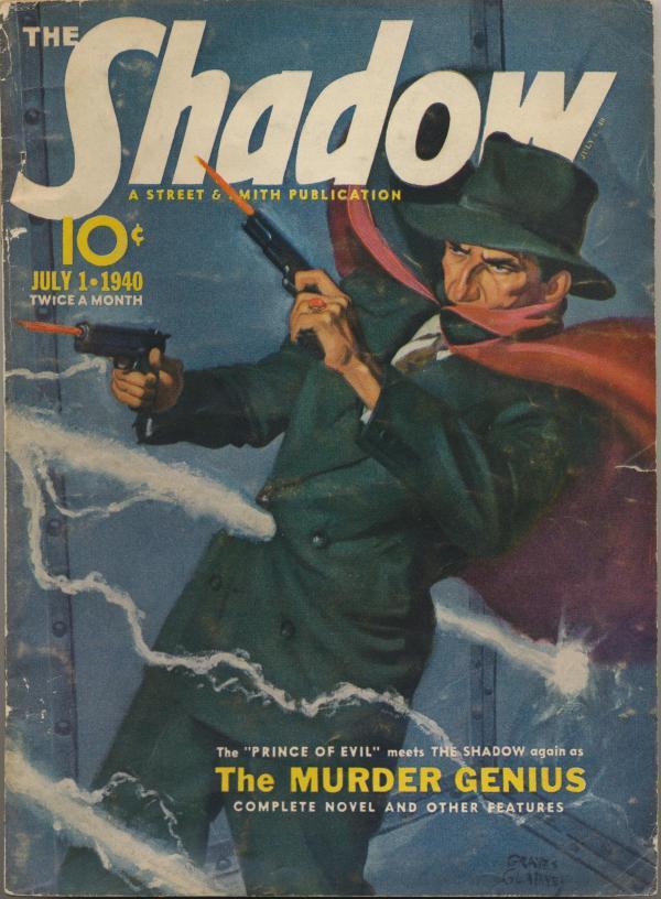 Shadow Magazine Vol 1 #201 July, 1940