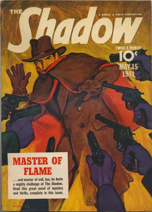 Shadow Magazine Vol 1 #222 May, 1941