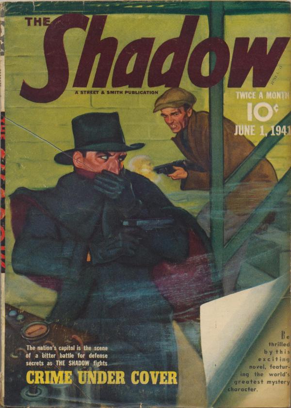 Shadow Magazine Vol 1 #223 June, 1941