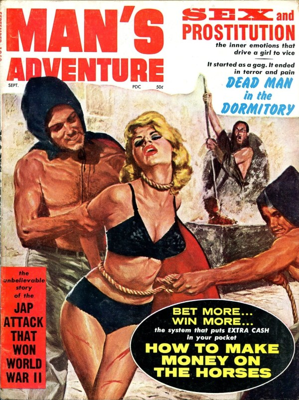 Man's Adventure September 1962