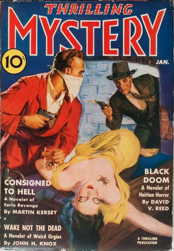 Thrilling Mystery January 1940