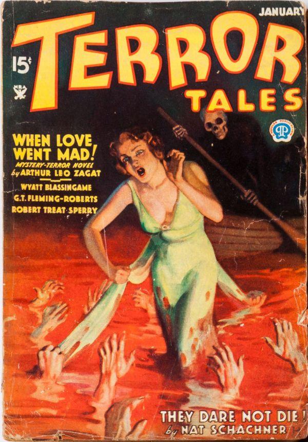 Terror Tales January 1935