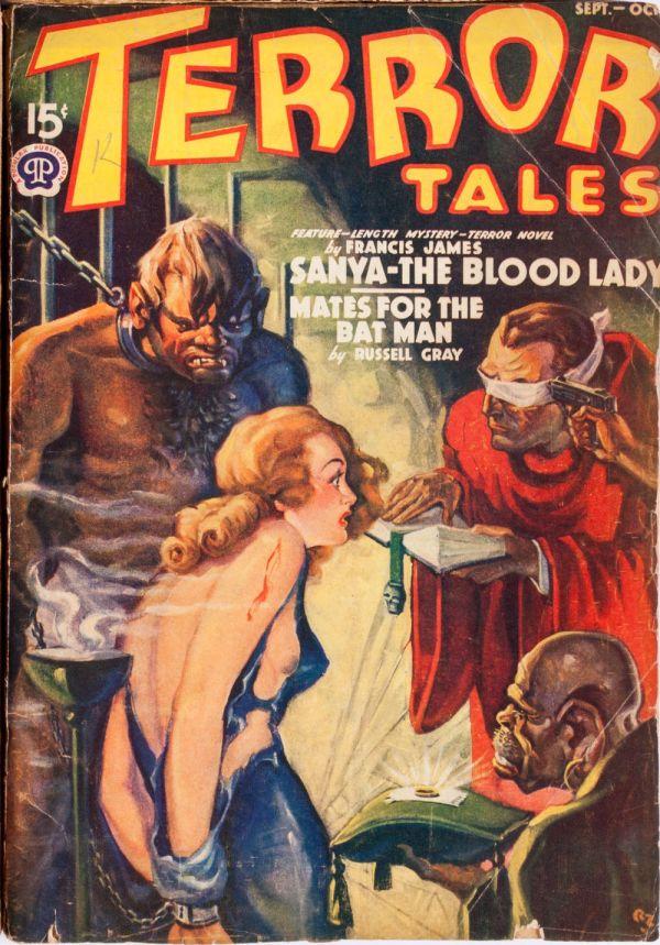 Terror Tales September-October 1939