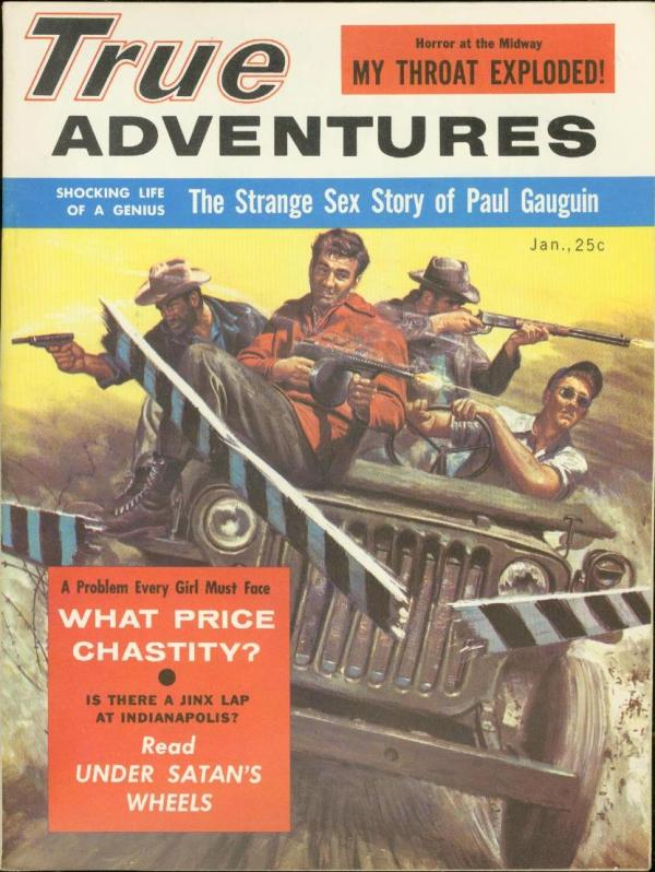 True Adventures January 1957