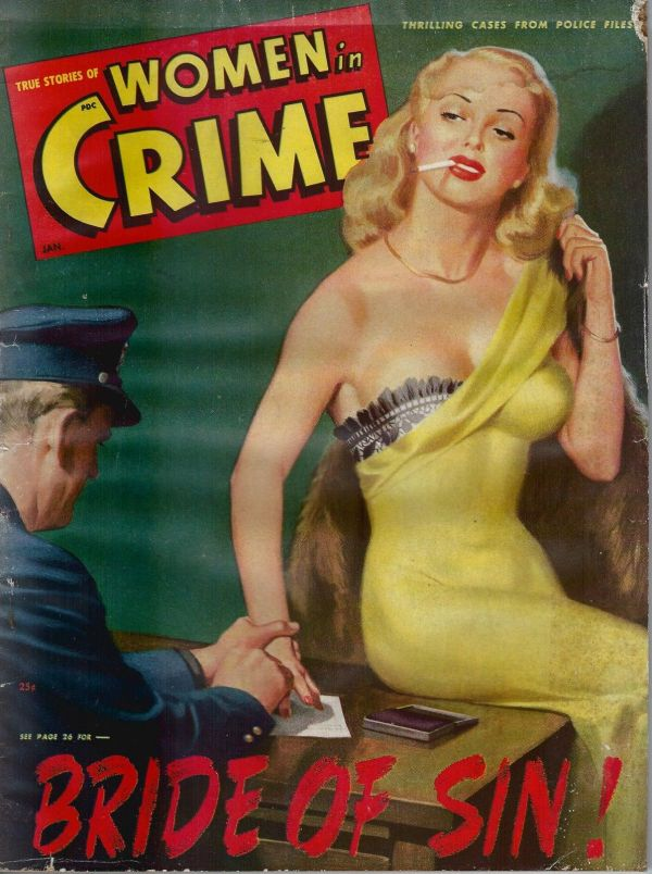 True Cases Of Women in Crime January 1949