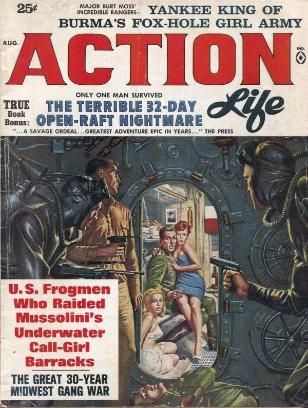 ACTION LIFE Aug 1963