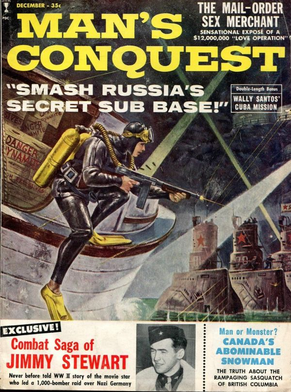 MAN'S CONQUEST December 1960