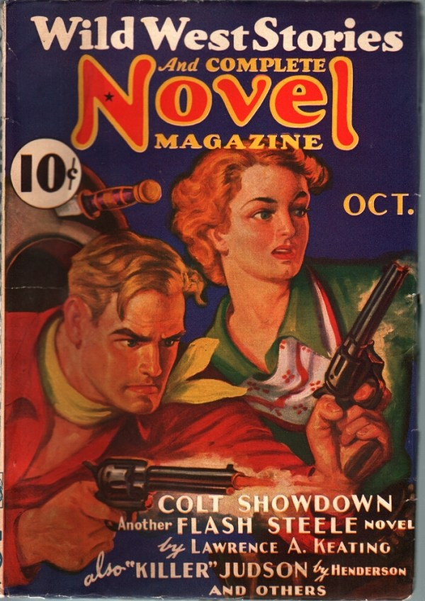 Wild West Stories And Complete Novel Magazine October 1936