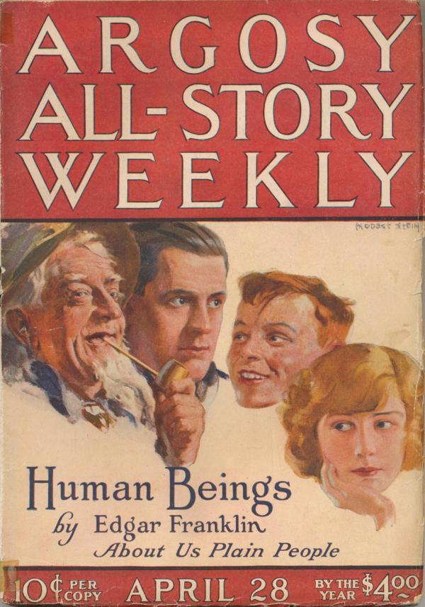 Argosy All-Story Weekly April 28, 1923