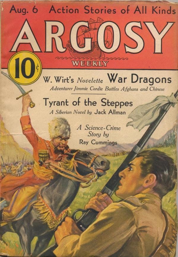 Argosy August 6, 1932