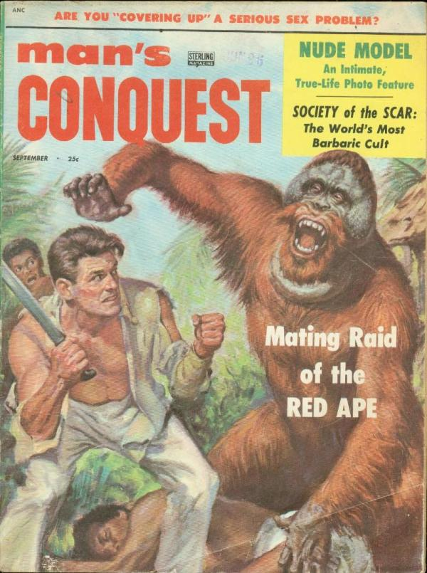 Man's Conquest September 1956