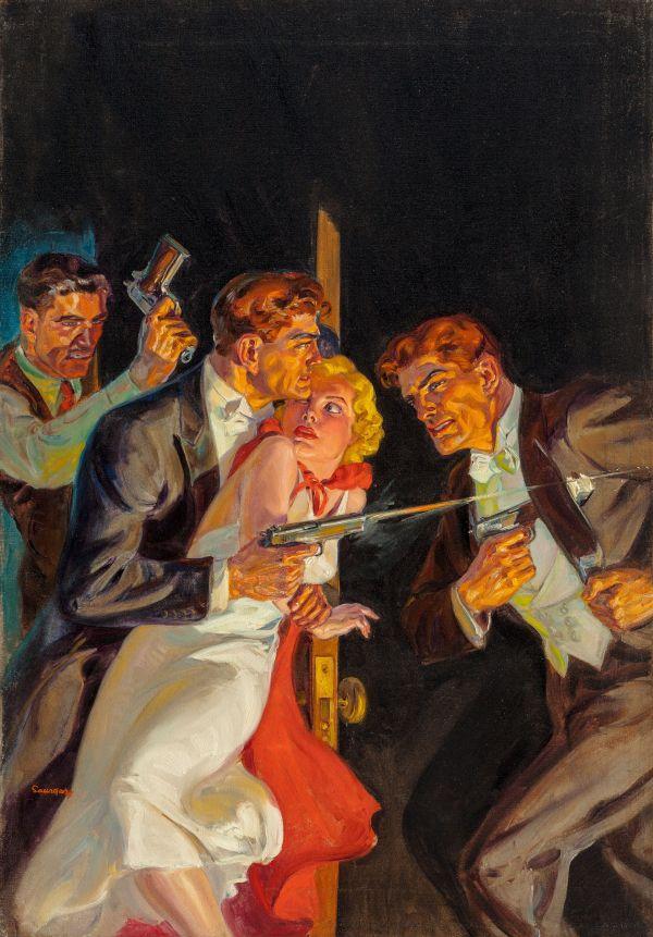 Secret Agent X magazine cover, June 1938