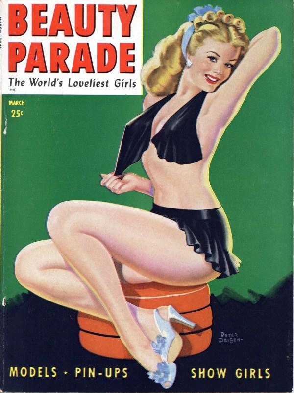 Beauty Parade, March 1946