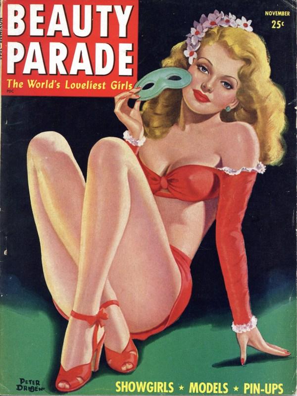 Beauty Parade November 1945