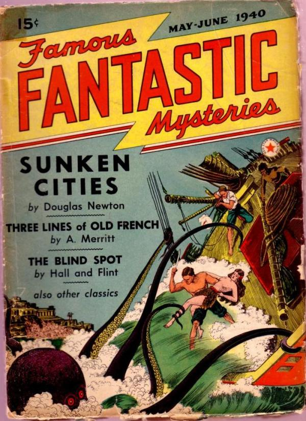 Famous Fantastic Mysteries May 1940