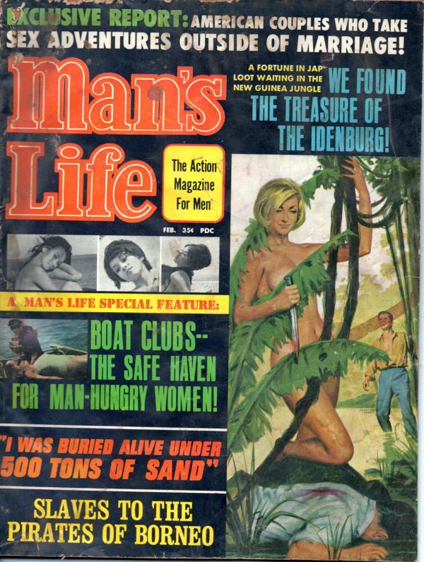MANS LIFE February 1967 10-8