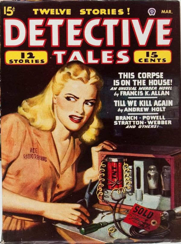 Detective Tales March 1947