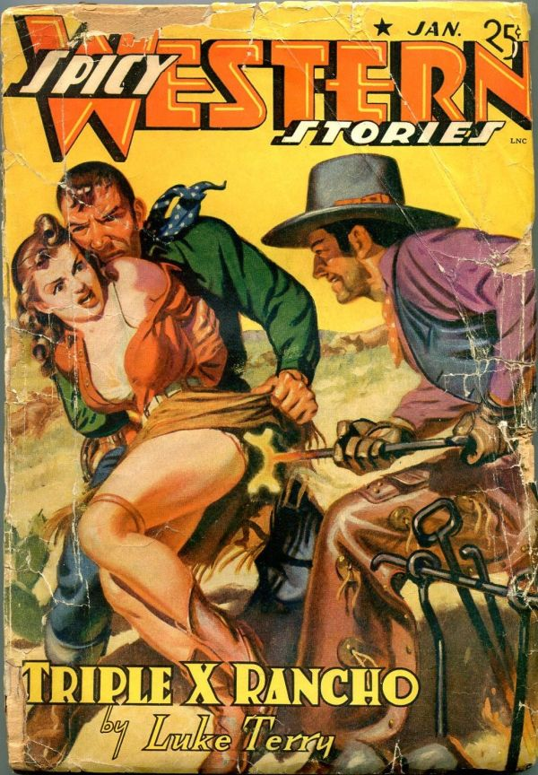 Spicy Western January 1942