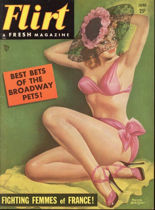Flirt June 1954