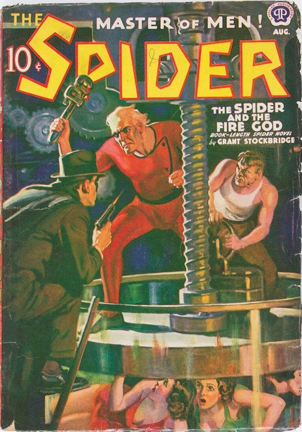 The Spider - August 1939