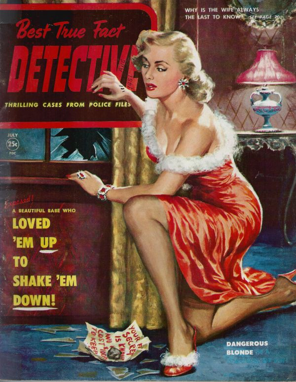 Best True Fact Detectrive July 1951