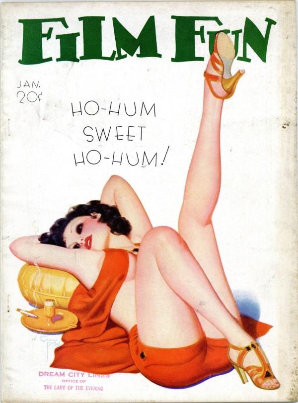 Film Fun January 1936