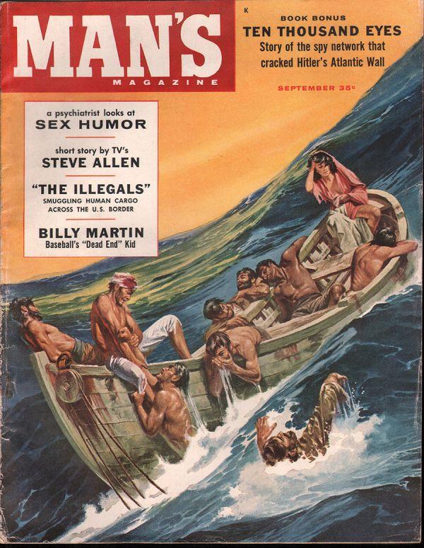 Man's Magazine September 1958