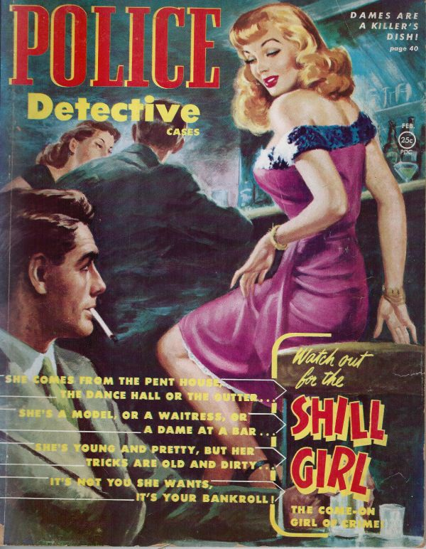 Police Detective Cases February 1952