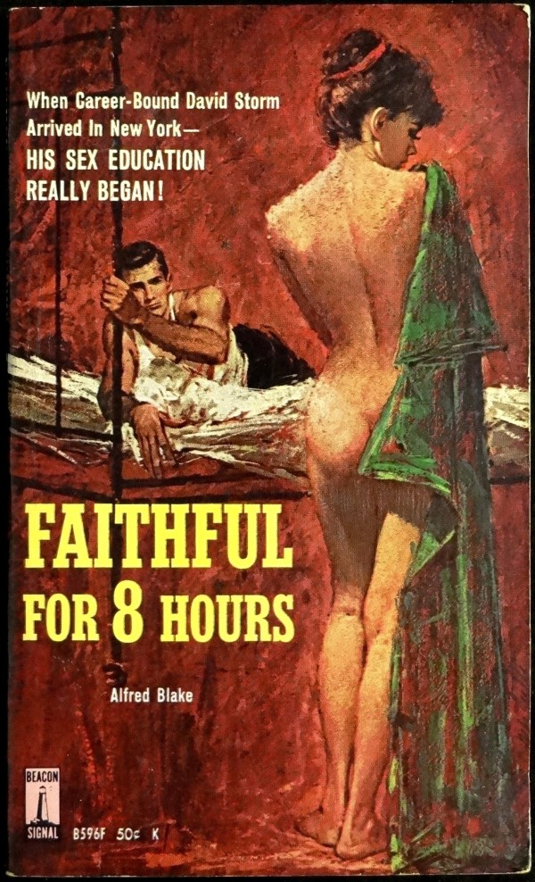 Beacon B-596F (1963). Paperback Original.  Cover Art is Uncredited
