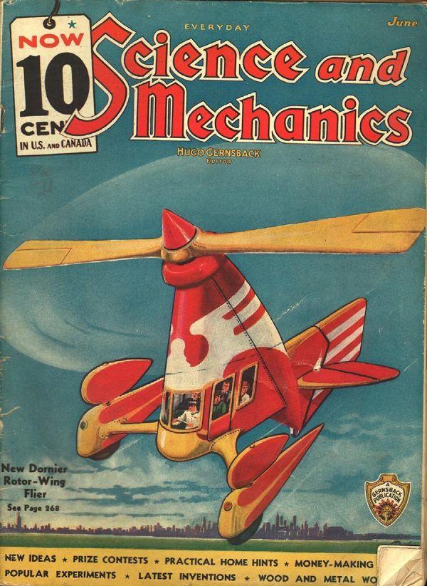 Everyday Science and Mechanics June 1936