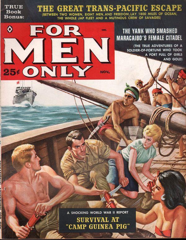 For Men Only November 1960