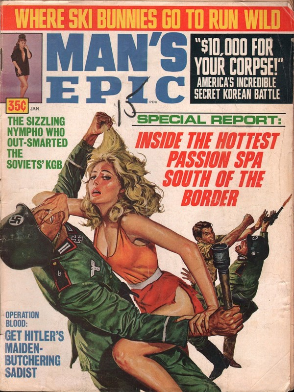 Man's Epic January 1970