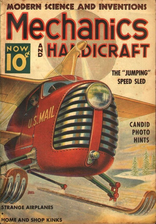 Mechanics And Handicraft December 1938