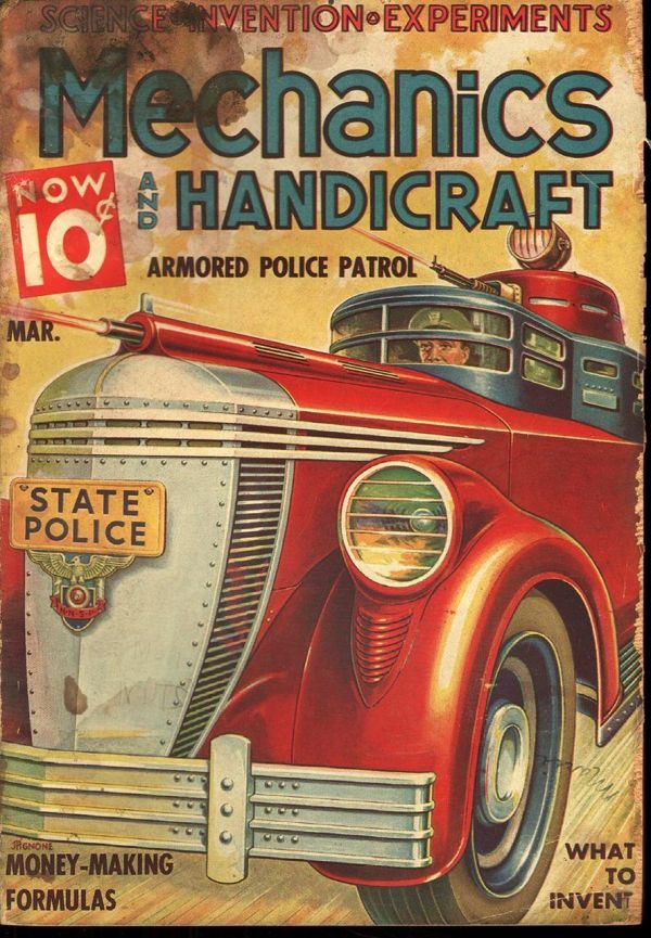 Mechanics And Handicraft March 1937
