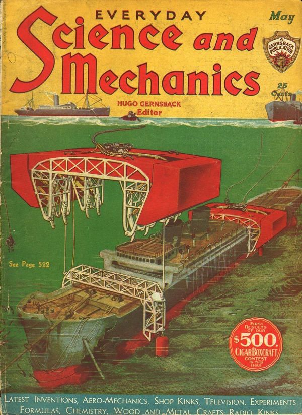 Science and Invention May 1932