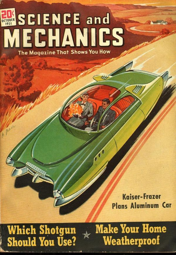 Science and Mechanics October 1951