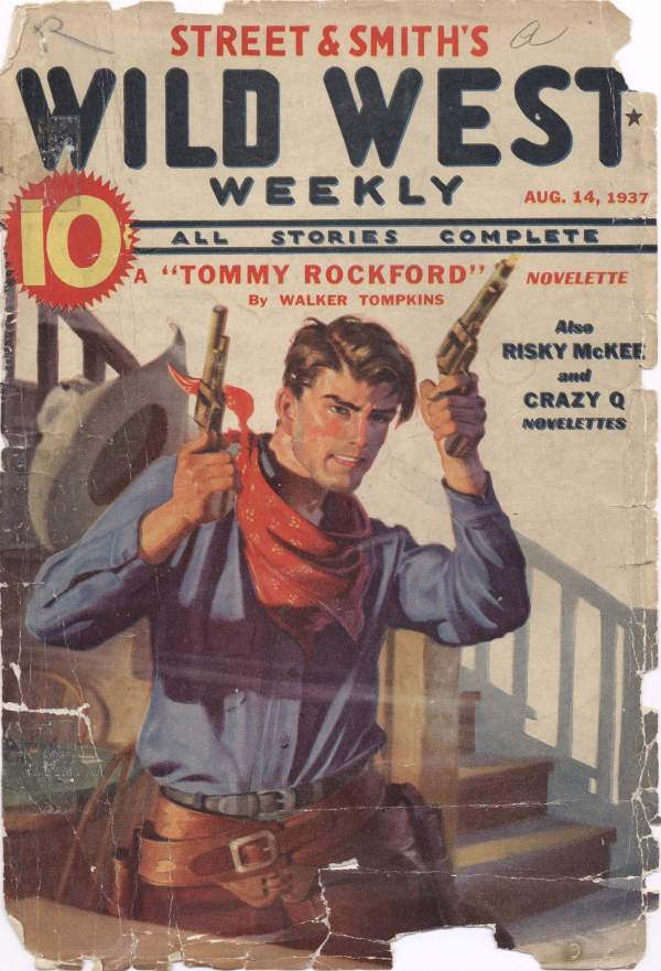 Wild West Weekly Aug 1937