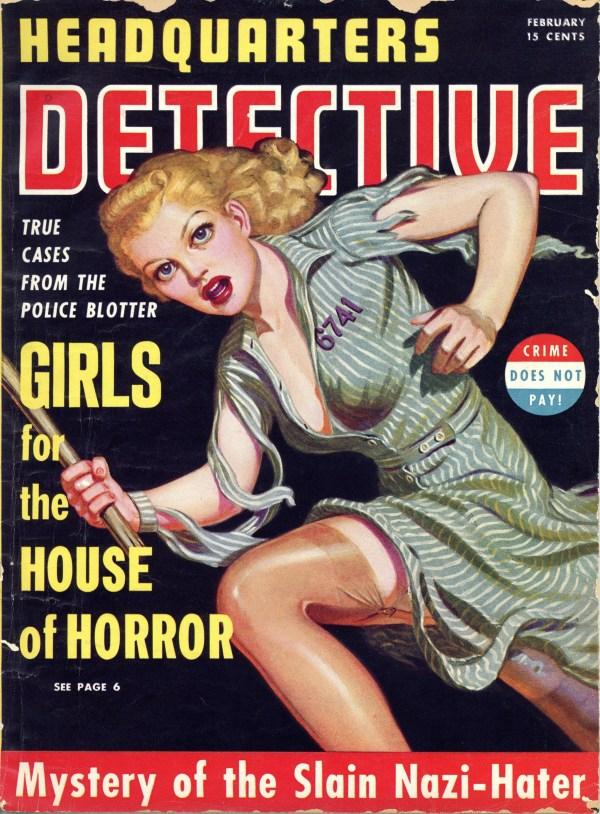 Headquarters Detective February 1941