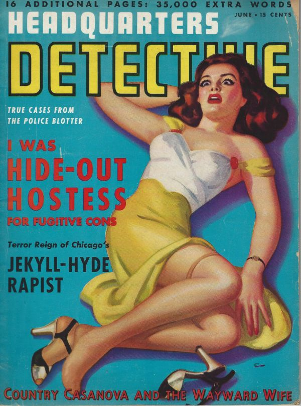 Headquarters Detective June 1942