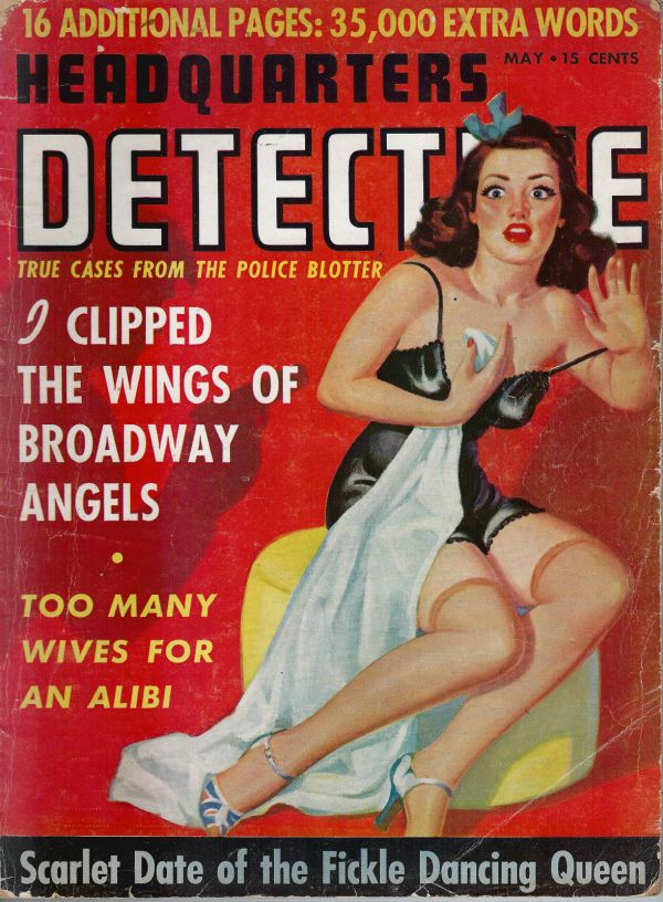 Headquarters Detective May 1942