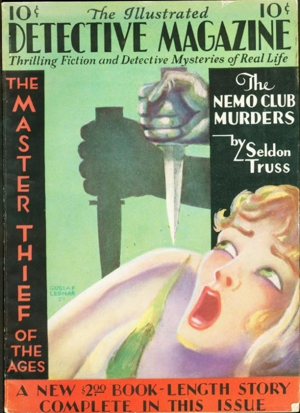Illustrated Detective Magazine Issue #2 1930