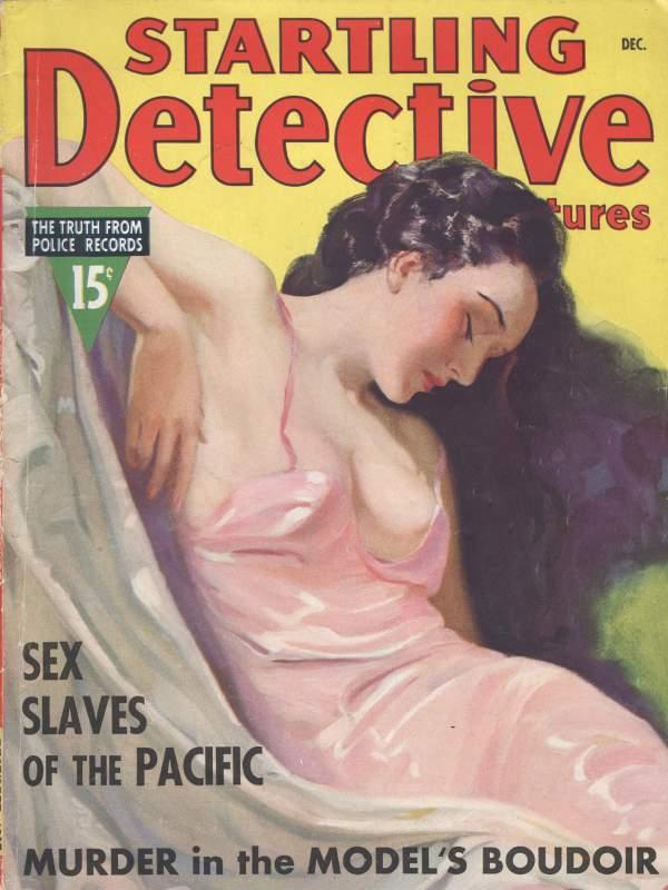 Startling Detective Adventures December 1937