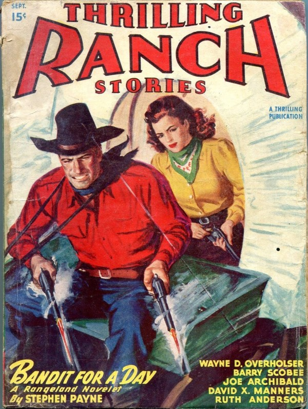 Thrilling Ranch Stories September 1947