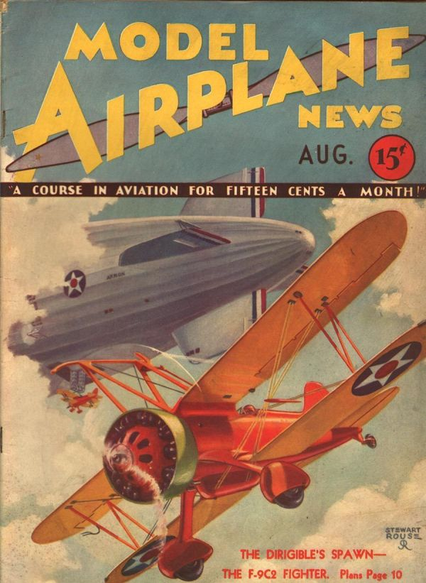model-airplane-news-august-1932