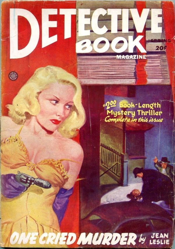 Detective Book Spring 1946