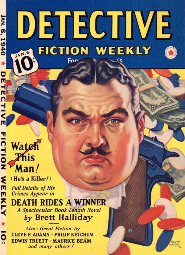 January 6, 1940 Detective Fiction